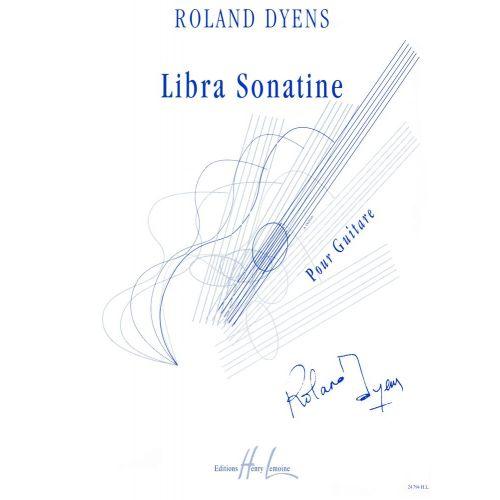 LEMOINE DYENS ROLAND - LIBRA SONATINE - GUITARE