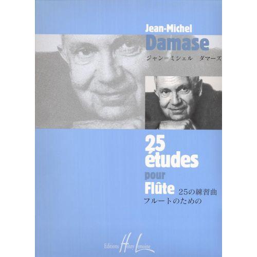 LEMOINE DAMASE JEAN-MICHEL - ETUDES (25) - FLUTE