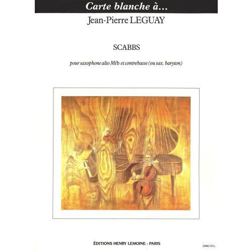LEMOINE LEGUAY JEAN-PIERRE - SCABBS - SAXOPHONE MIB, CONTREBASSE