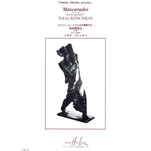 LEMOINE KOSHKIN NIKITA - MASCARADES VOL.2 - GUITARE