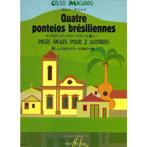 LEMOINE MACHADO CELSO - PONTEIOS BRESILIENNES (4) - 2 GUITARES