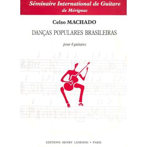 LEMOINE MACHADO CELSO - DANEAS POPULARES BRASILEIRAS - 4 GUITARES