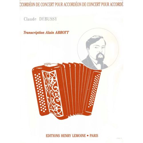 LEMOINE ABBOTT ALAIN - DEBUSSY - ACCORDEON