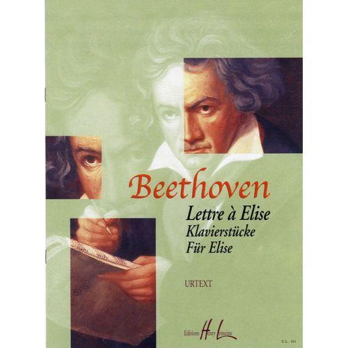 LEMOINE BEETHOVEN LUDWIG VAN - LETTRE A ELISE - PIANO