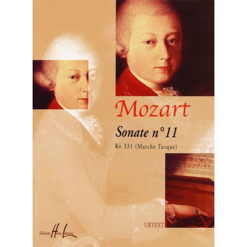 LEMOINE MOZART W.A. - SONATE N°11 KV331 - PIANO