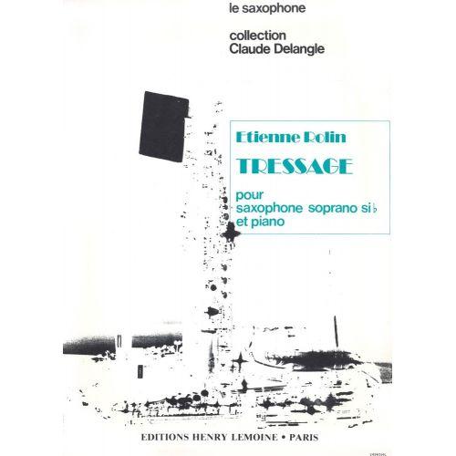 LEMOINE ROLIN ETIENNE - TRESSAGE - SAXOPHONE, PIANO