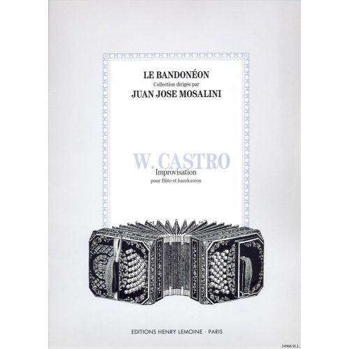 LEMOINE CASTRO WASHINGTON - IMPROVISATION - FLUTE, BANDONEON