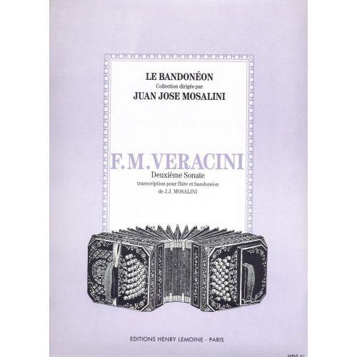 LEMOINE VERACINI FRANCESCO-MARIA - SONATE N°2 - FLUTE, BANDONEON