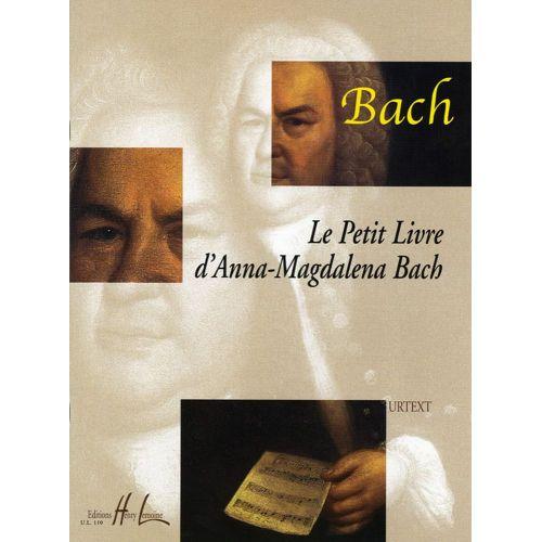 LEMOINE BACH J.S. - PETIT LIVRE D'ANNA MAGDALENA BACH - PIANO