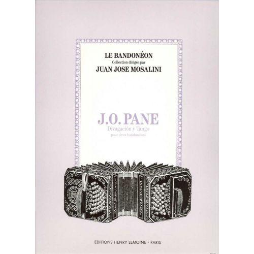LEMOINE PANE OSCAR - DIVAGACION Y TANGO - 2 BANDONEONS