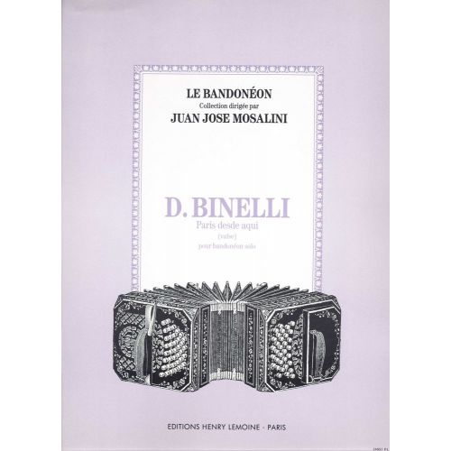 LEMOINE BINELLI DANIEL - PARIS DESDE AQUI - BANDONEON