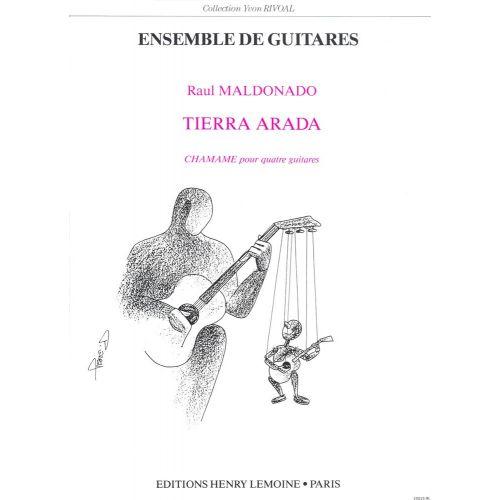 LEMOINE MALDONADO RAUL - TIERRA ARADA - 4 GUITARES