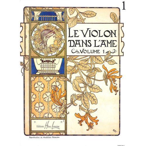 LEMOINE GARLEJ BRUNO - VIOLON DANS L'ÂME VOL.1 - VIOLON, PIANO
