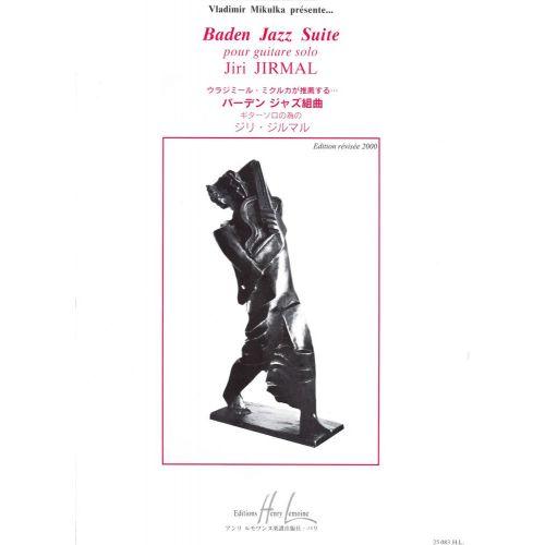 LEMOINE JIRMAL JIRI - BADEN JAZZ SUITE - GUITARE