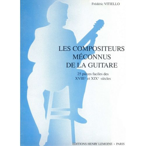 LEMOINE VITIELLO FREDERIC - COMPOSITEURS MECONNUS - GUITARE