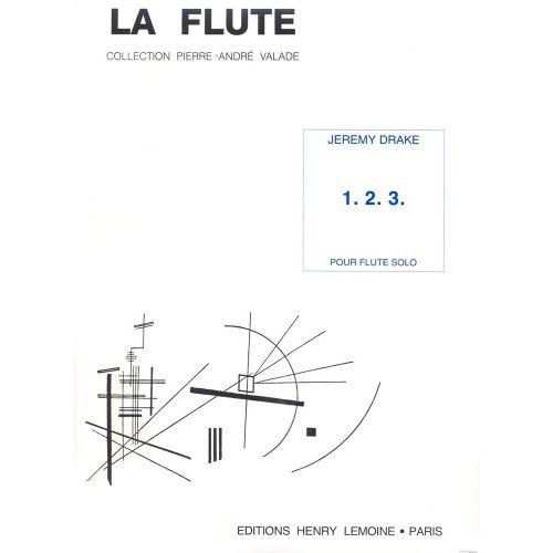 LEMOINE DRAKE JEREMY - 1, 2, 3 - FLUTE