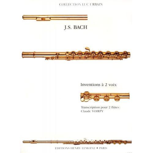 LEMOINE BACH J.S. - INVENTIONS A 2 VOIX - 2 FLUTES