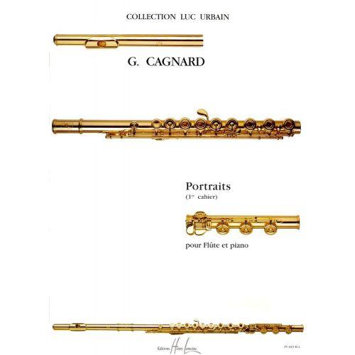 LEMOINE CAGNARD GILLES - PORTRAITS VOL.1 - FLUTE, PIANO