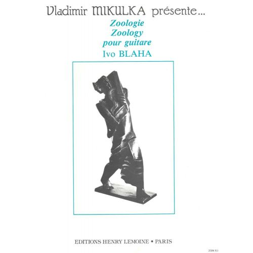 LEMOINE BLAHA IVO - ZOOLOGIE - GUITARE