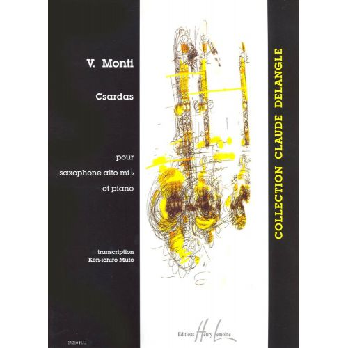LEMOINE MONTI VITTORIO - CZARDAS - SAXOPHONE MIB, PIANO