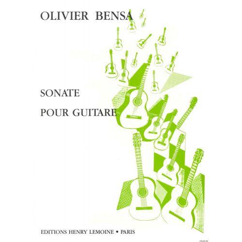 LEMOINE BENSA OLIVIER - SONATE - GUITARE