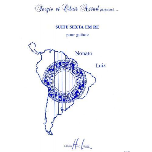 LEMOINE LUIZ NONATO - SUITE SEXTA EM RE - GUITARE