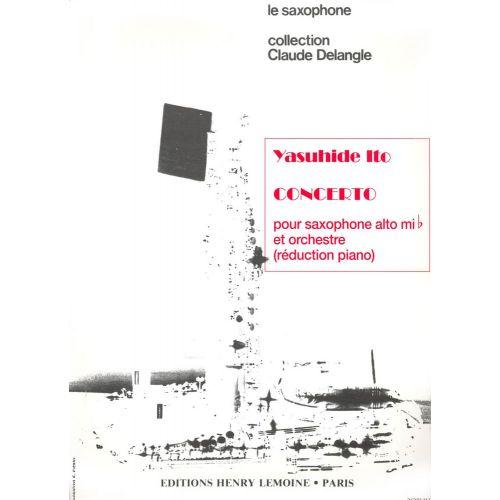 LEMOINE ITO YASUHIDE - CONCERTO - SAXOPHONE ALTO, PIANO