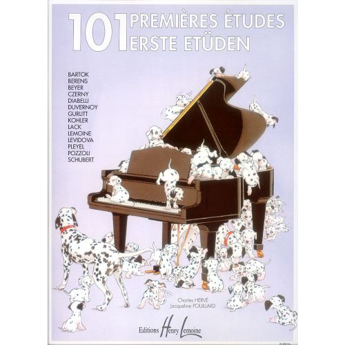 LEMOINE HERVE C. / POUILLARD J. - PREMIÈRES ÉTUDES (101) - PIANO