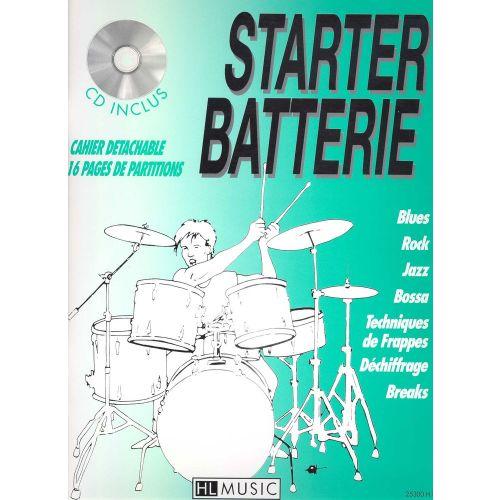 LEMOINE BILLAUDY PATRICK - STARTER BATTERIE VOL.1 + CD - BATTERIE