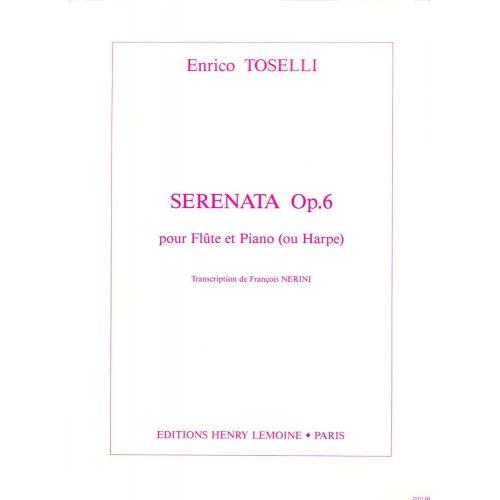 LEMOINE TOSELLI ENRICO - SERENATA OP.6 - FLUTE, PIANO