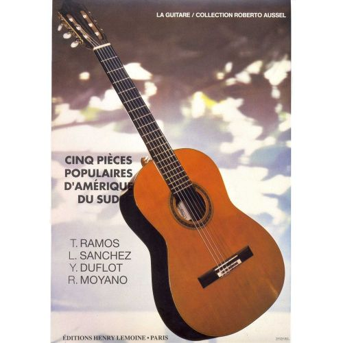 LEMOINE PIECES POPULAIRES D'AMERIQUE LATINE (5) - GUITARE