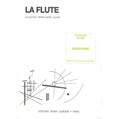 LEMOINE ROSSE FRANCOIS - EXORCISME - FLUTE
