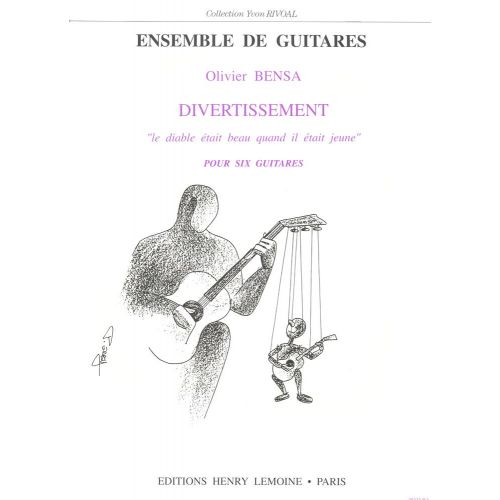 LEMOINE BENSA OLIVIER - DIVERTISSEMENT - 6 GUITARES