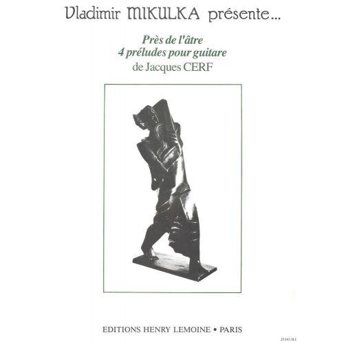 LEMOINE CERF JACQUES - PRES DE L'ATRE - GUITARE