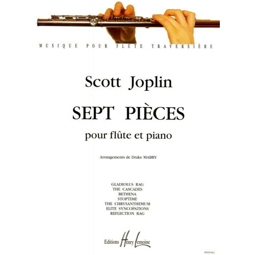 LEMOINE JOPLIN SCOTT - PIÈCES (7) - FLUTE, PIANO