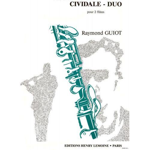 LEMOINE GUIOT RAYMOND - CIVIDALE DUO - 2 FLUTES