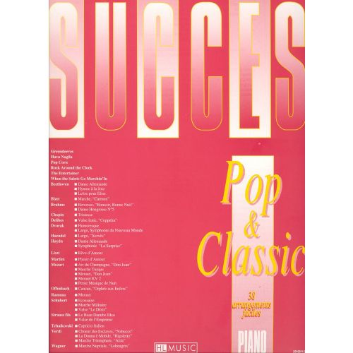 LEMOINE HEUMANN HANS-GUNTER - SUCCES POP AND CLASSIC - PIANO