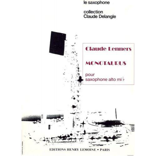 LEMOINE LENNERS CLAUDE - MONOTAURUS - SAXOPHONE
