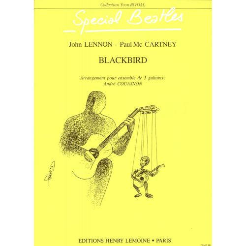 LEMOINE BEATLES - BLACKBIRD - 5 GUITARES