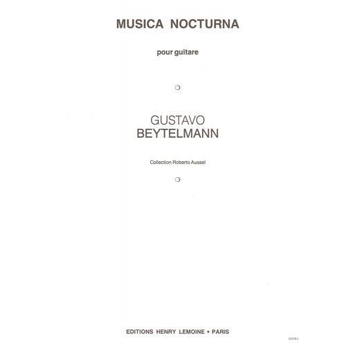LEMOINE BEYTELMANN GUSTAVO - MUSICA NOCTURNA - GUITARE