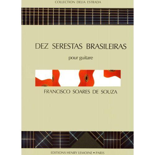 LEMOINE DE SOUZA SOARES - DEZ SERESTAS BRASILEIRAS - GUITARE