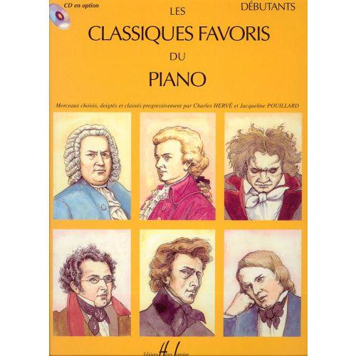 LEMOINE CLASSIQUES FAVORIS VOL.DÉBUTANTS - PIANO