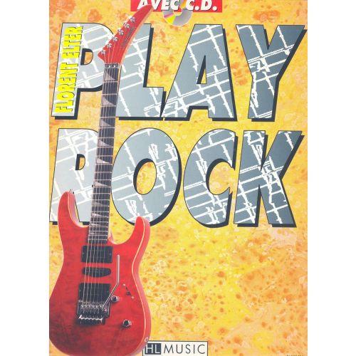 LEMOINE ELTER FLORENT - PLAY ROCK GUITAR + CD - GUITARE