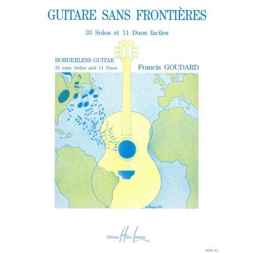 LEMOINE GOUDARD FRANCIS - GUITARE SANS FRONTIERES - GUITARE