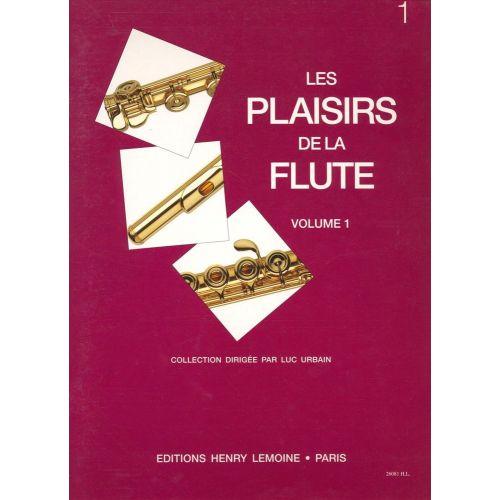 LEMOINE URBAIN LUC - LES PLAISIRS DE LA FLUTE VOL.1 - FLUTE, PIANO