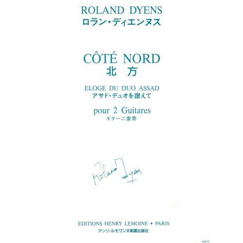 LEMOINE DYENS ROLAND - COTE NORD - 2 GUITARES