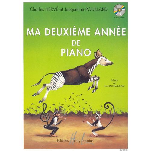 LEMOINE HERVE C. / POUILLARD J. - MA 2ÈME ANNÉE DE PIANO - PIANO