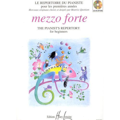 LEMOINE QUONIAM BEATRICE - MEZZO FORTE - PIANO