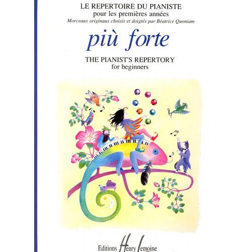 LEMOINE QUONIAM BEATRICE - PIU FORTE - PIANO