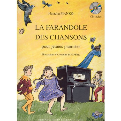 LEMOINE PIANKO NATACHA - FARANDOLE DES CHANSONS + CD - PIANO